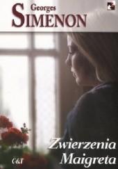 Okładka książki Zwierzenia Maigreta Georges Simenon