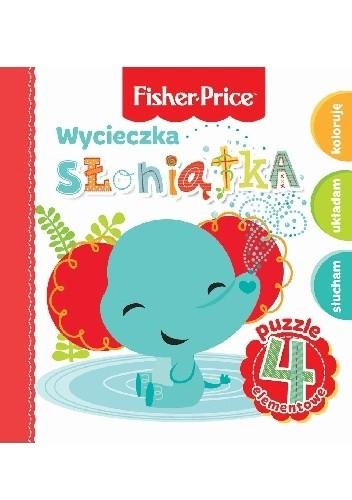 Okładka książki Wycieczka słoniątka. Fisher Price Puzzle Anna Wiśniewska