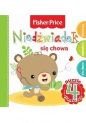 Okładka książki Niedźwiadek się chowa. Fisher Price Puzzle