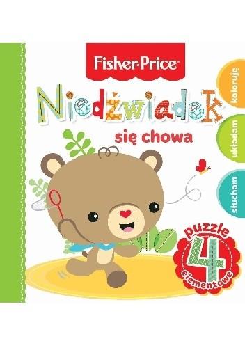 Okładka książki Niedźwiadek się chowa. Fisher Price Puzzle Anna Wiśniewska