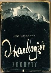 Okładka książki Dhaulagiri Zdobyty Jerzy Hajdukiewicz