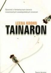 Okładka książki Tainaron Leena Krohn