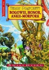Okładka książki Bogowie, honor, Ankh-Morpork Terry Pratchett