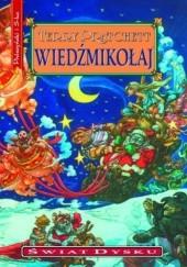 Okładka książki Wiedźmikołaj Terry Pratchett