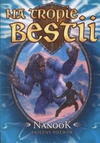 Okładka książki Nanook: Śnieżny potwór Adam Blade