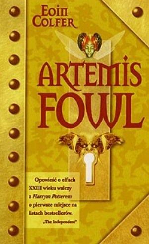 Okładka książki Artemis Fowl Eoin Colfer