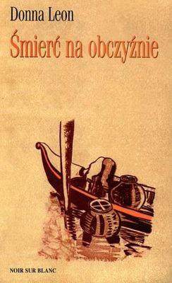 Okładka książki Śmierć na obczyźnie Donna Leon