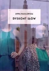 Okładka książki Dyskont słów Anna Nasiłowska