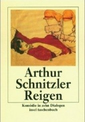 Okładka książki Korowód Arthur Schnitzler