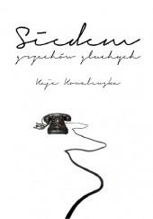 Okładka książki Siedem grzechów głuchych Kaja Kowalewska