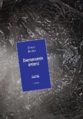 Okładka książki Zaprzeczanie śmierci Ernest Becker