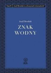 Okładka książki Znak wodny Josif Brodski