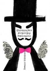 Okładka książki Wstrząsająco przystojny mężczyzna Tomasz Wiśniewski