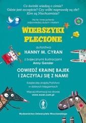 Okładka książki Wierszyki plecione Hanna M. Cyran