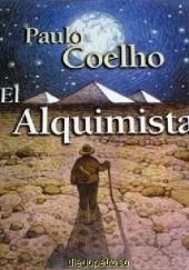 Okładka książki El Alquimista Paulo Coelho