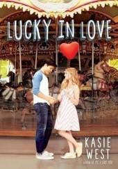 Okładka książki Lucky in Love Kasie West