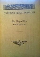 Okładka książki De Republica emendanda Andrzej Frycz Modrzewski