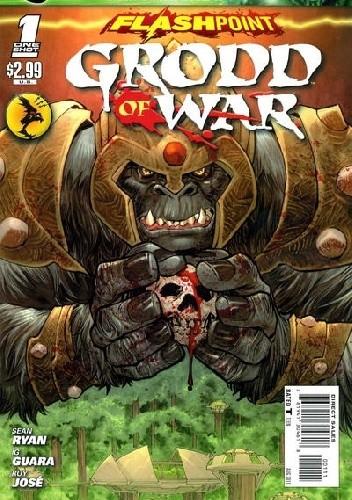 Okładka książki Flashpoint: Grodd of War #1 Ig Guara,Sean Ryan