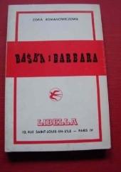 Okładka książki Baśka i Barbara Zofia Romanowiczowa