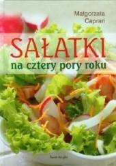 Okładka książki Sałatki na cztery pory roku