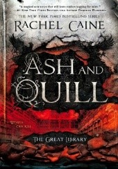 Okładka książki Ash and Quill Rachel Caine