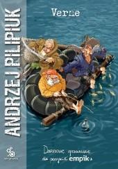 Okładka książki Verne Andrzej Pilipiuk