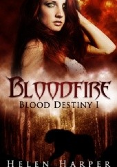 Okładka książki Bloodfire Helen Harper