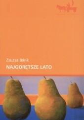 Okładka książki Najgorętsze lato Zsuzsa Bánk
