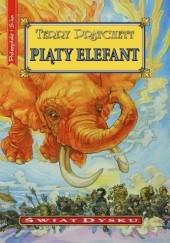 Okładka książki Piąty elefant Terry Pratchett