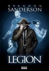 Okładka książki Legion Brandon Sanderson