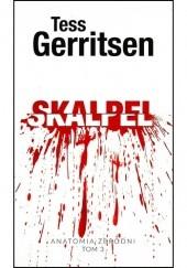 Okładka książki Skalpel Tess Gerritsen