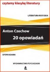 Okładka książki 20 opowiadań, Czechow Antoni Czechow