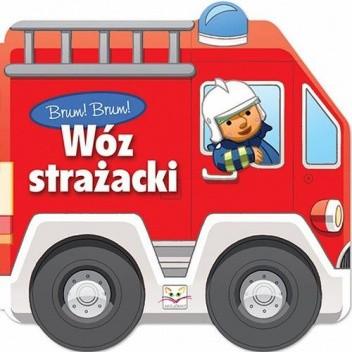 Okładka książki Brum! Brum! Wóz strażacki Agnieszka Bator,Anna Bembenek