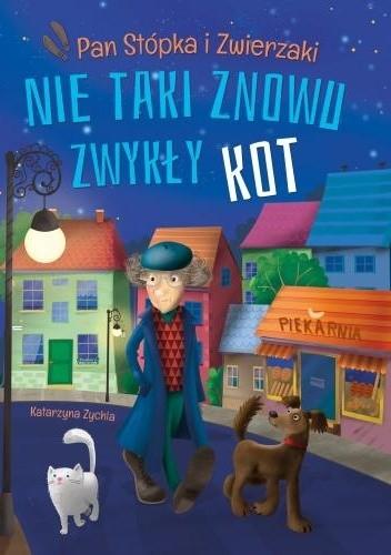 Okładka książki Nie taki znowu zwykły kot Katarzyna Zychla