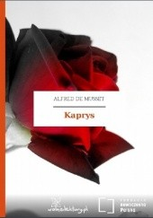 Okładka książki Kaprys Alfred de Musset