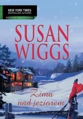 Okładka książki Zima nad jeziorem Susan Wiggs