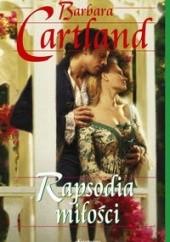 Okładka książki Rapsodia miłości Barbara Cartland
