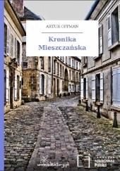 Okładka książki Kronika Mieszczańska Artur Oppman