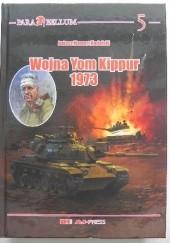 Okładka książki Wojna Yom Kippur 1973 Łukasz Mamert Nadolski