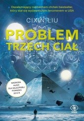 Okładka książki Problem trzech ciał Cixin Liu