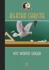 Okładka książki Kot wśród gołębi Agatha Christie