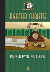 Okładka książki Parker Pyne na tropie Agatha Christie