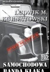 Okładka książki Samochodowa banda Kłaka Ludwik Kurnatowski