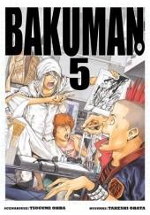 Okładka książki Bakuman #5 Tsugumi Ohba,Takeshi Obata