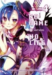 Okładka książki No Game No Life light novel: tom 4