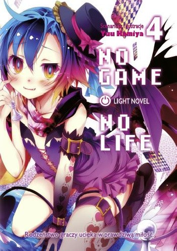 Okładka książki No Game No Life light novel: tom 4 Yuu Kamiya