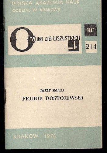 Okładka książki Fiodor Dostojewski Józef Smaga