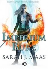 Okładka książki Imperium burz Sarah J. Maas
