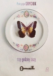 Okładka książki Trzy godziny ciszy Patrycja Gryciuk