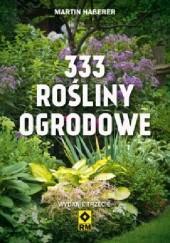 Okładka książki 333 rośliny ogrodowe Martin Haberer